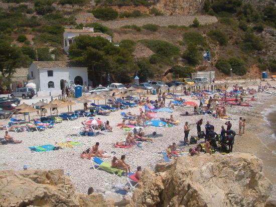 Playa La Granadella: Granadella beach