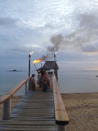 Malolo Island Resort: warriors