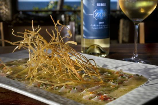 Xeliter Balcones del Atlantico: Tiradito peruano @ Porto Restaurant