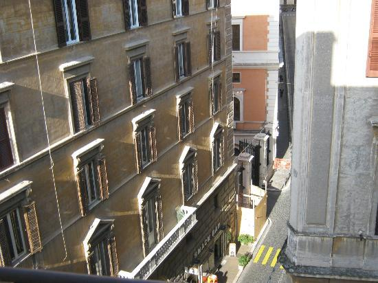 Repubblica Hotel: View from room 527