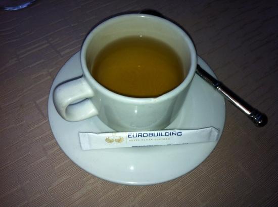 Eurobuilding Hotel & Suites Guayana: te en el lobby