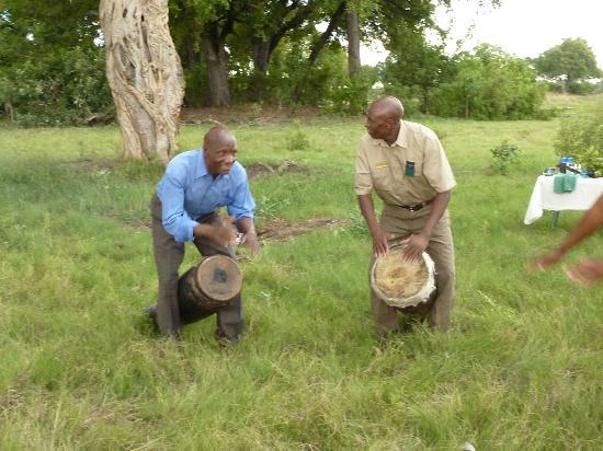 Wilderness Safaris Vumbura Plains Camp: at the bush blessing