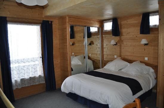 Le Christiania: chambre double avec balcon