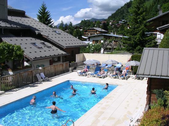 Le Christiania: piscine chauffée l'été