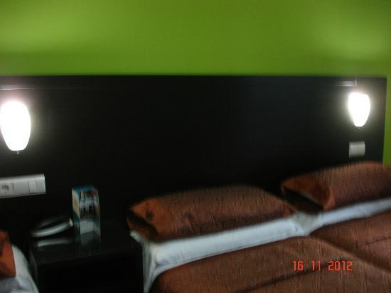 Hotel de los Faroles: quarto