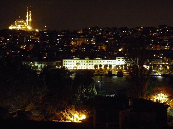 Grand Hotel Halic : View from hotel restaurant