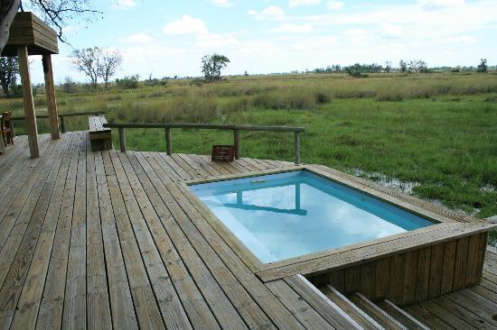 ‪‪Wilderness Safaris Vumbura Plains Camp‬: Honeymoon Suite‬