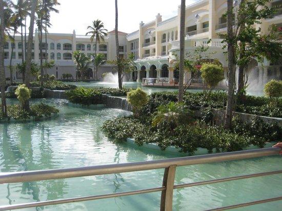 Iberostar Grand Hotel Bavaro: View of grounds & fountains