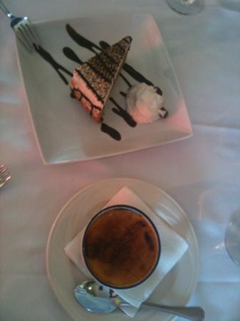 La Brezza Ristorante: desert is served !
