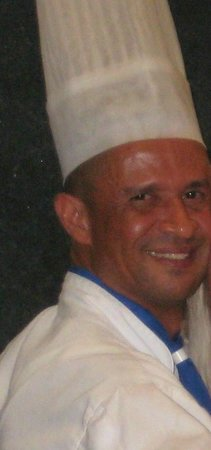 Iberostar Grand Hotel Bavaro: The grill chef at the Buffet