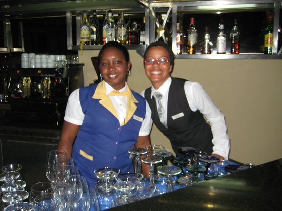 Iberostar Grand Hotel Bavaro: Bartender, Cigar sales, and public relations Nichol