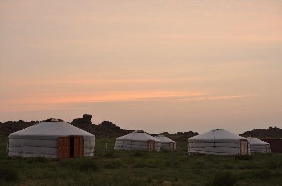 Mandalgovi, มองโกเลีย: Ger camp