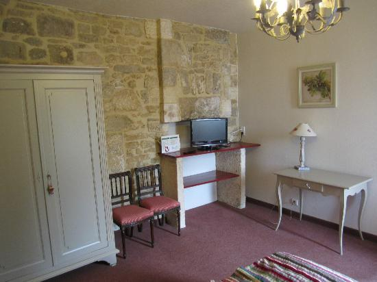 Hotel La Couleuvrine: Main room