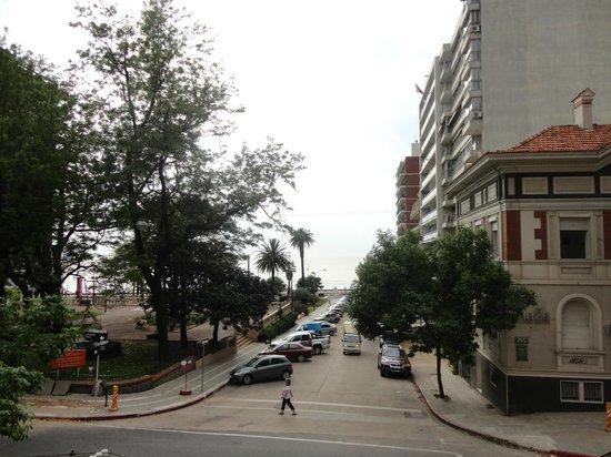 Ermitage Hotel: Vista da sacada do restaurante no café da manhã