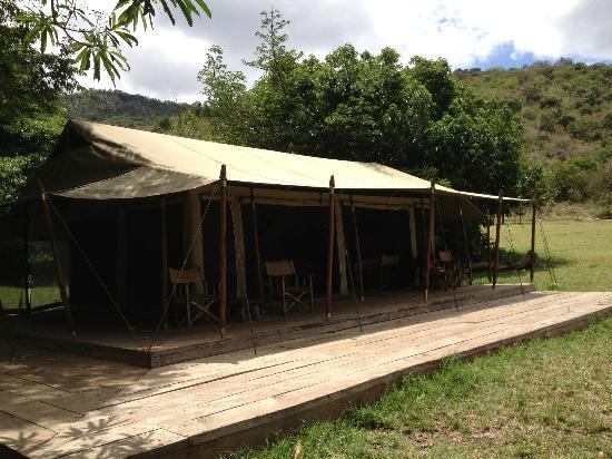 Enkewa Mara Camp: Dining area