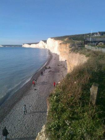 The Boat House: birling gap,nice walk