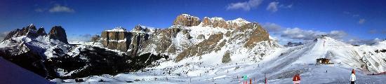 Dolomiti Ski Tour: vew