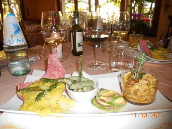 Private Cooking Lesson with chef Luigi Gandola : Here is a sampling of some of the food we made!