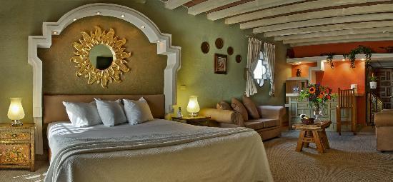 Posada El Rey Sol: Habitacion Jr. suite