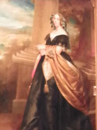 Victorian Mansion: Painting of Martha Washington that is believed to have been in the White House