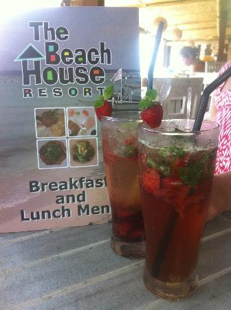 The Beach House Resort: Deliciously refreshing mocktail...Berry Nice!