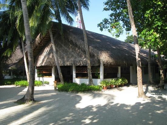 Fihalhohi Island Resort: reception 