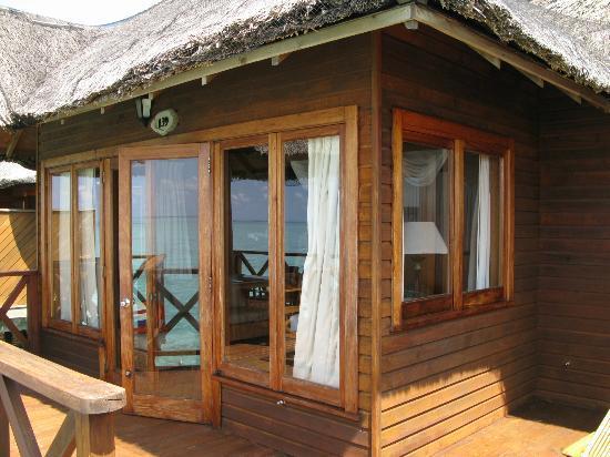Fihalhohi Island Resort: more water bungalow views