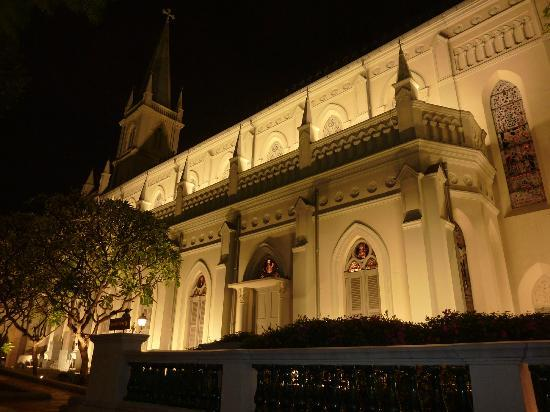Carnivore Brazilian Churrascaria: view from our table at Carnivore, Chijmes