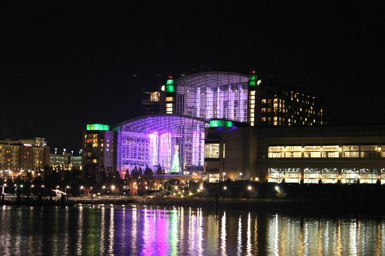 Gaylord National Resort & Convention Center: View of Gaylord National from the River