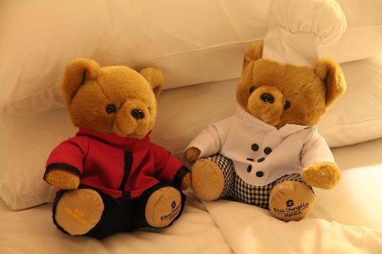 Edsa Shangri-La: The Edsa bears