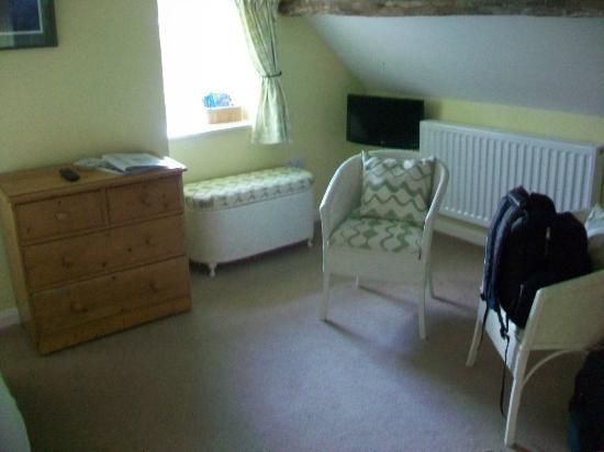 Ty Newydd B & B: Room 4 sitting area