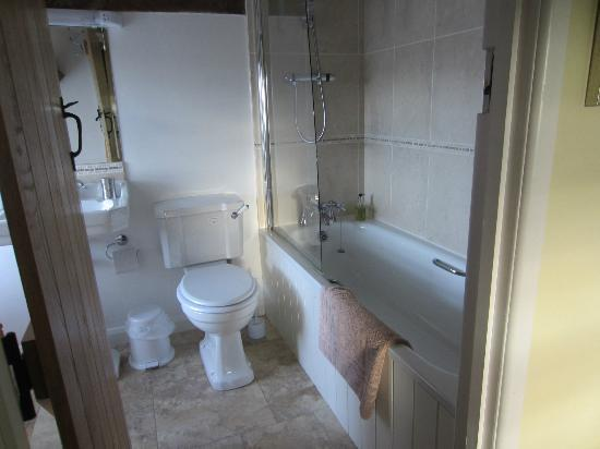 Ty Newydd B & B: room 4 shower and bath