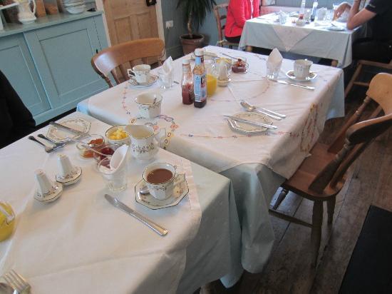 Ty Newydd B & B: Breakfast room