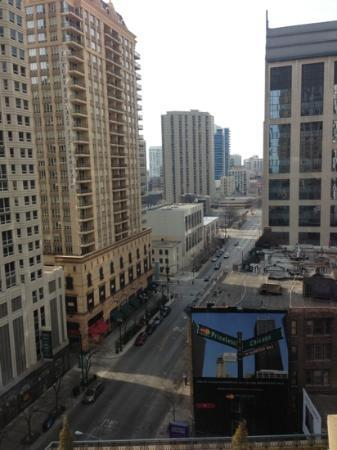 Park Hyatt Chicago: this is my view from my hotel room