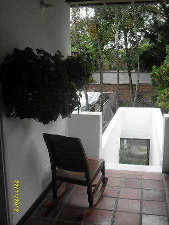 Hostal Poblado Park: view from the 2nd floor