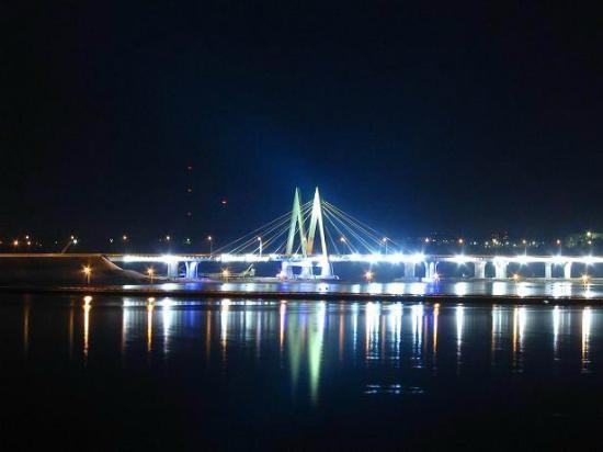Millenium Bridge: Миллениум ночью