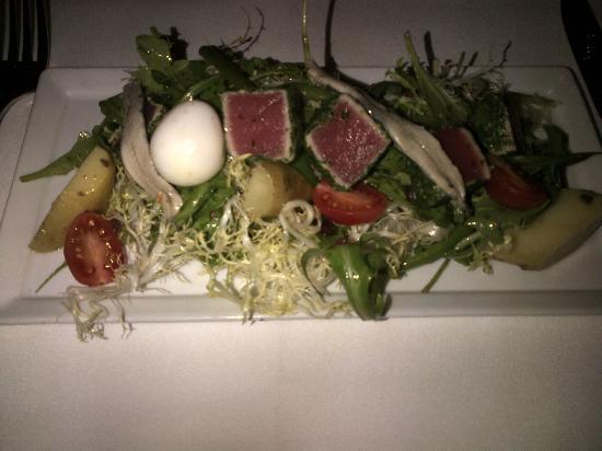 Escoffier Restaurant: Nicoise salad