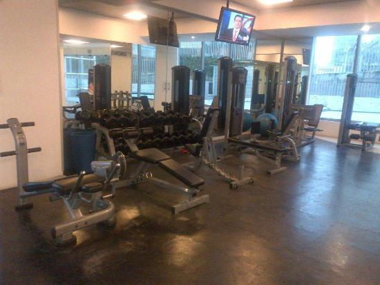 Hotel Camino Real Santa Fe Mexico: Gym