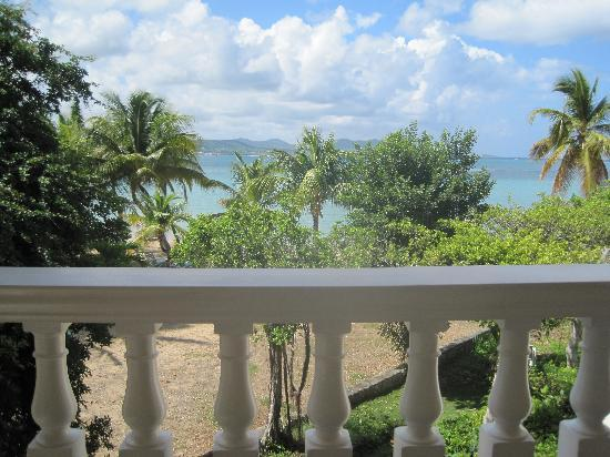 The Buccaneer St Croix: View from room balcony