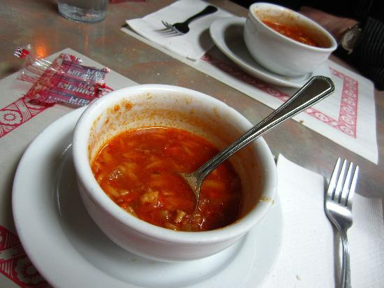 Restaurant N & G: Hearty Minestrone Soup