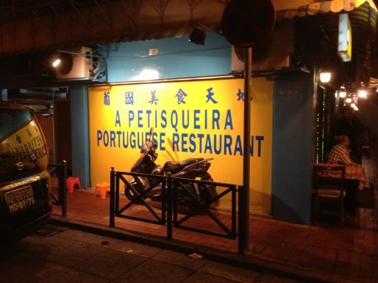 A Petisqueira : outside