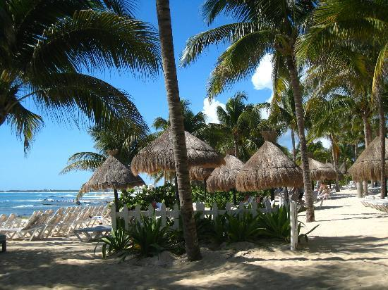 Mayan Palace Riviera Maya: beach areas
