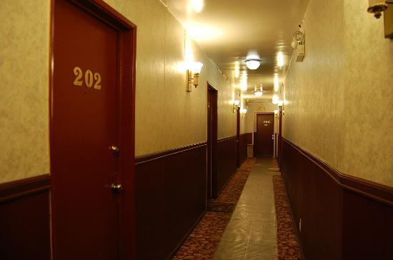 Hollywood Cityview Inn & Suites: hallway
