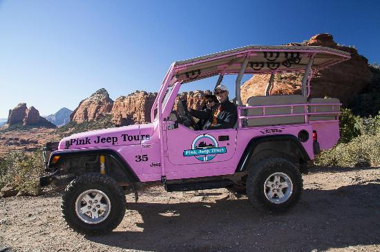 A Blast Picture Of Pink Jeep Tours Sedona Sedona