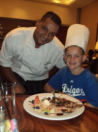 Anaheim Marriott Suites: Chef Hany