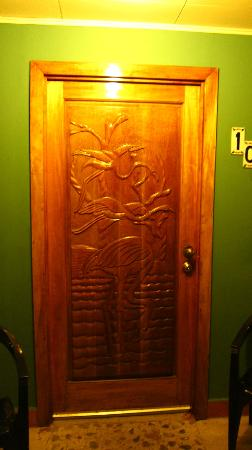 Hotel Verde Mar: Room door.