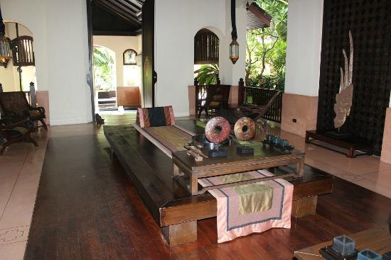 Anantara Bophut Koh Samui Resort: reception area