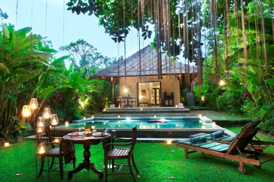 Plataran Canggu Resort & Spa: Romantic Candle Light Dinner At One Bed room Pool Villa