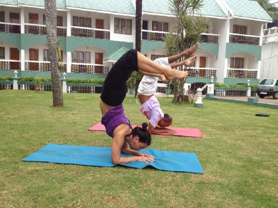 Yoga with Haridas: Green palace