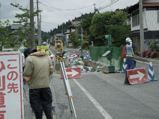 Site of Muryoko-in : 工事現場の様な、発掘現場